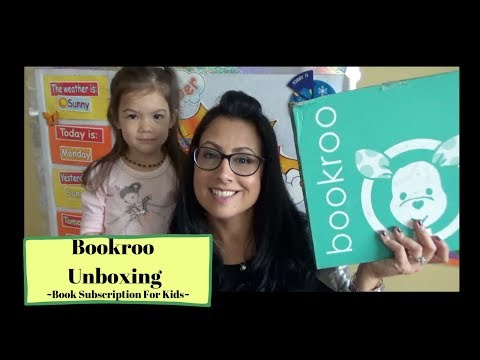 Bookroo Unboxing ~ Book Subscription Box For Kids~