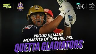 Quetta Gladiators' Journey - Proud Hemani Moments of the HBL PSL V