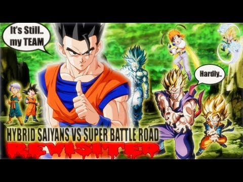 THE NEW HYBRID SAIYAN CATEGORY STAGE OF SUPER BATTLE ROAD