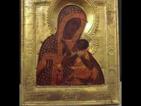 """Икона Божией Матери Арапетская или Аравийская (""""О Всепетая Мати"""")"""