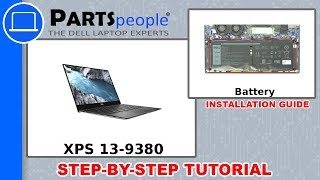 Dell XPS 13-9380 (P82G002) Battery How-To Video Tutorial