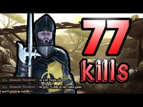 77 Kills in a Match - Mordhau