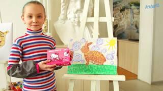 """Гуашь 6 цветов 20мл Hello Kitty HK19-062 от компании Интернет-магазин """"Радуга"""" - школьные рюкзаки, канцтовары, творчество - видео"""