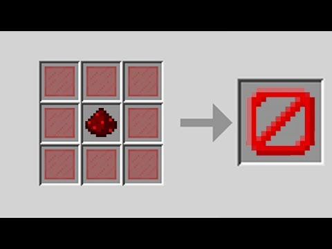 How to Craft Barrier Blocks in Minecraft Pocket Edition (Custom Crafting)