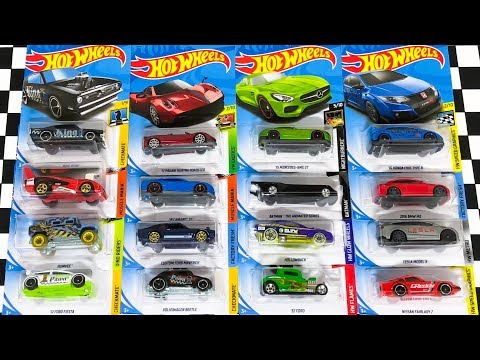 Opening New Hot Wheels 2018 L Case Cars!