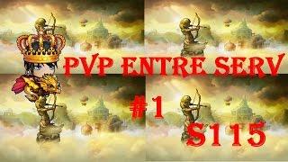 DDTANK - PvP entre serv #1 mais novidade no canal (com audio)