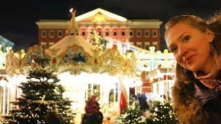 Новогодняя Москва. Самые красивые площади и улицы. Путешествие в Рождество