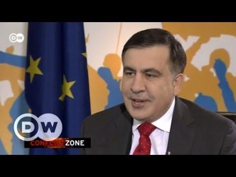 Самое острое интервью с Михаилом Саакашвили о Порошенко и агентах Кремля - Conflict Zone на русском (видео)