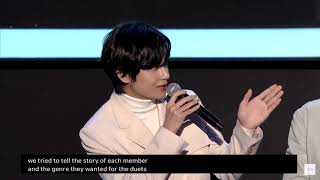 Taehyung talks about every tracks in MOTS :7 on BTS Global Press Conference