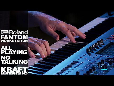 Roland Fantom Music Workstation - All Playing, No Talking! with Scott Tibbs