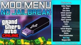 How To Install Mod Menu On PS3 - No Jailbreak - How To Mod GTA 5 Online - USB Mod Menu