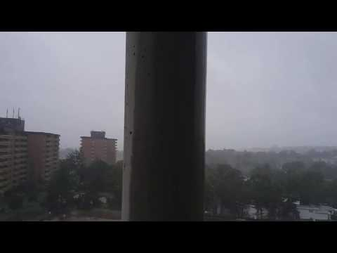 Dorian Hurricane Hitting Halifax, Nova Scotia - September 7, 2019