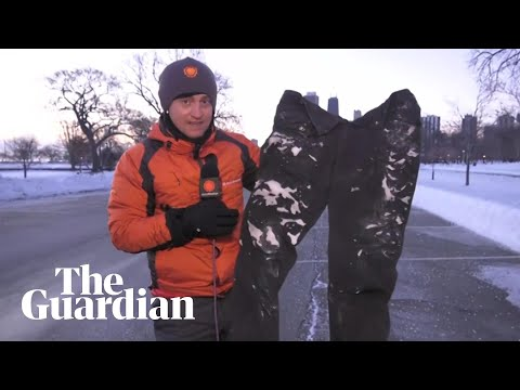 Five icy videos from the heart of the polar vortex