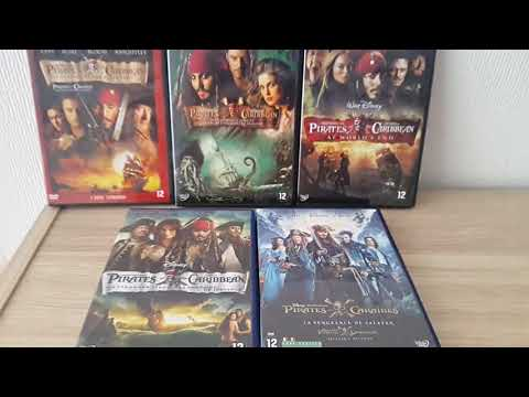 MY PIRATES OF THE CARIBBEAN DVD 1-5