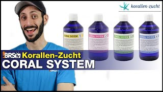 Korallen-Zucht Coral System: Dosing amino acids, minor & trace element is as easy as 1-2-3-4