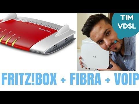 Sostiuire Modem Fibra di TIM con il VoIP