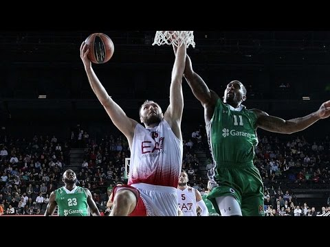 EuroLeague Highlights RS Round 2: Darussafaka Dogus Istanbul 80-81 EA7 Emporio Armani Milan
