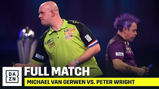 FULL MATCH | Michael Van Gerwen Vs. Peter Wright (2019/20 Darts World Championship)