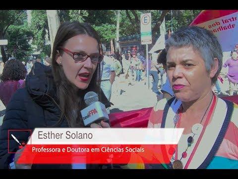 Mulheres pelas diretas e por direitos   Entrevista com Esther Solano