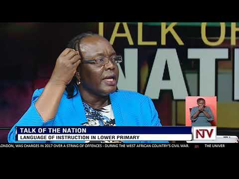 TALK OF THE NATION: Language of instruction in lower primary