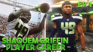 SHAQUEM GRIFFIN TAKES NFL BY STORM! CRAZY INTERCEPTION! Madden 19 Player Career