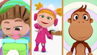 Kukuli – Çocuk Çizgi Filmleri | Kar Yağıyor & Hıçkırık & Pasaklı Kukuli | 3 Bölüm Bir Arada