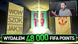 WYDAŁEM 48 000 FIFA POINTS! NIE UWIERZYSZ CO TRAFIŁEM!