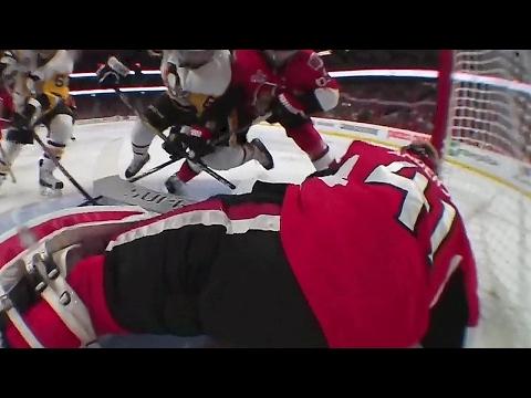Penguins' goal waved off after refs determine goalie interference