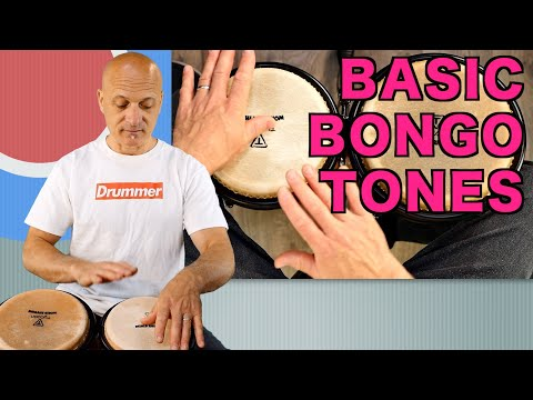 Basic Bongo Tones - How to Play Bongos Tutorial