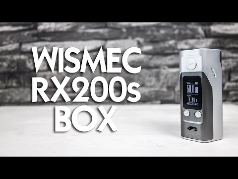 YouTube Video zu Wismec Reuleaux RX200S Akkuträger 250 Watt