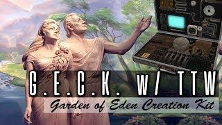 Garden of Eden Creation Kit  Setup w TTW