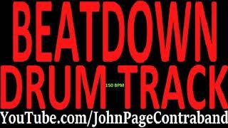 Beatdown Hardcore Drum Track 150 bpm FREE