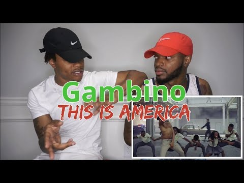 Childish Gambino - This Is America (Official Video) - REACTION (видео)