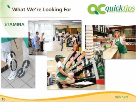 QuickChek Expectations
