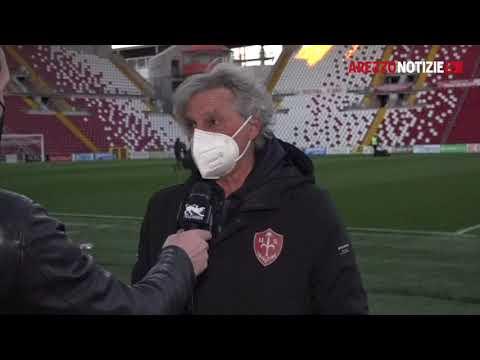 Triestina-Arezzo 2-2 - Intervista a mister Pillon