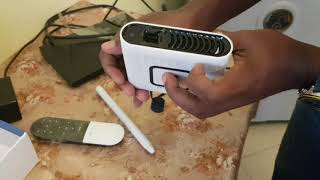 Unboxing and First Impression on Pond Touchjet Smart Touch Projector  - Part 1