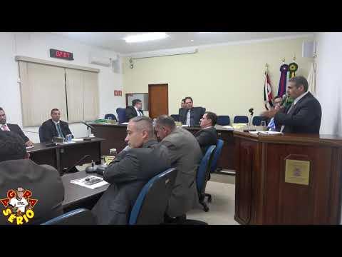 Vereador Irineu Machado detona o Urbe de Juquitiba na Tribuna da Câmara.