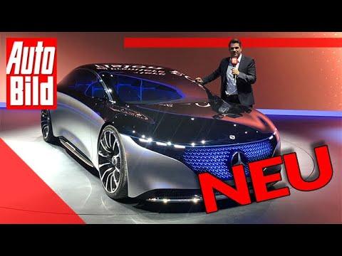 Mercedes Vision EQS (2019): IAA - Neuvorstellung - Info - Elektro