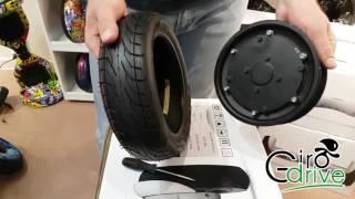 Замена покрышки на гироскутере 10.5 дюймов