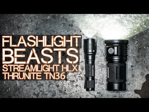 Flashlight POWERRRR – Streamlight HL-X and Thrunite TN36 review of sorts