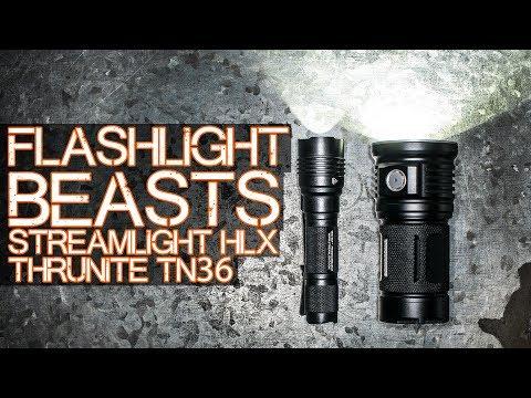 Flashlight POWERRRR – Streamlight HL-X and Thrunite TN36 review of sorts