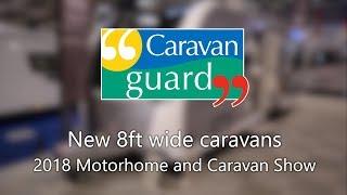 2019 8ft wide caravans