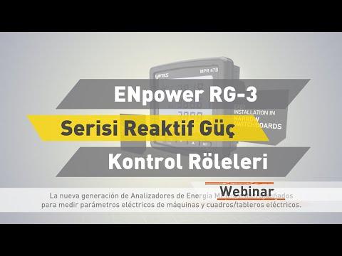 ENTES Webinar: ENpower RG-3 Serisi Reaktif Güç Kontrol Röleleri
