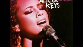 Alicia Keys ~ How Come You Don't Call Me (Unplugged Version)