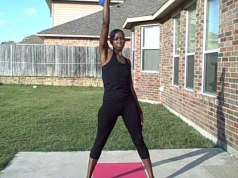 HIIT Woman Workouts: Kettlebell Windmill