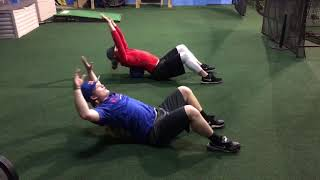 Great Drill for Thoracic Mobility for Pitchers