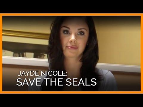 Jayde Nicole 'Save the Seals' Photo Shoot