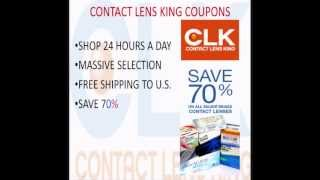 Contact Lens King Coupon Offers - Get Up To 70% Off Retail Prices With Contact Lens King Coupon