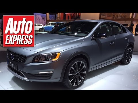 All-new crossover saloon: the Volvo S60 Cross Country