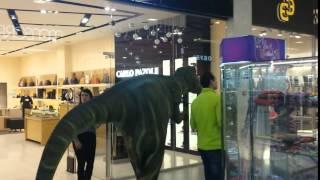 Динозавр (Dinozavr) в Сити-парк Град